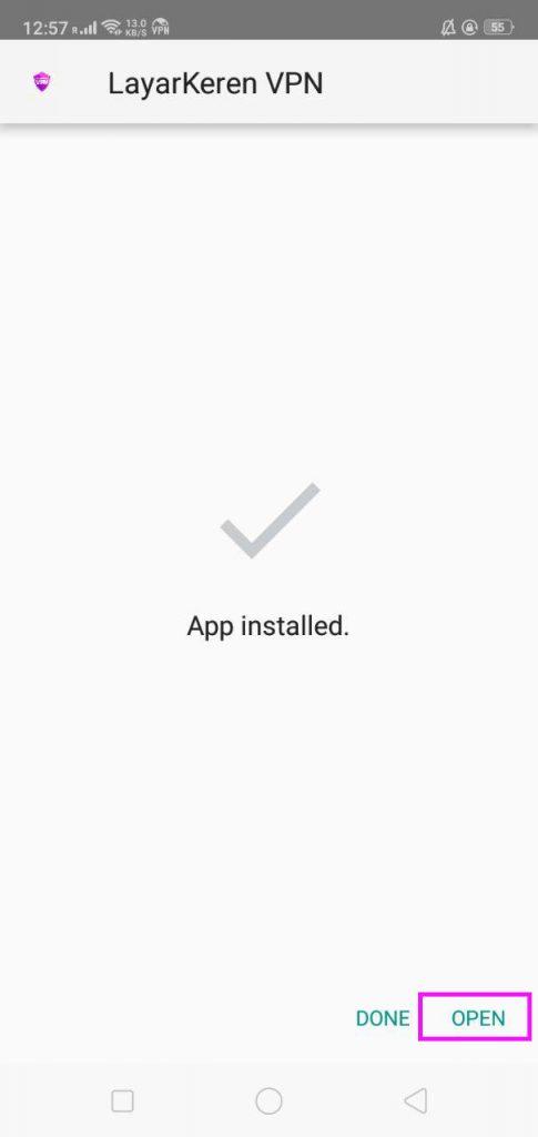 Panduan Download Aplikasi VPN Layarkeren step 2